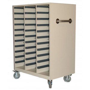 Storage Cart for Varian Brass Compensators