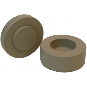 Lead Case for Cs137 Check Source, 10mm Thick Lead Wall