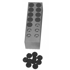 14 Hole Lead Insert, for Shielded Storage Safe Drawer