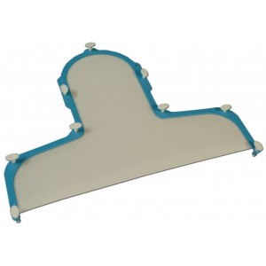 Aquaplast Disposable Head and Shoulder S-Frame, 2.4mm Thick, with T-Pins