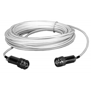50' (15m) Triax Cable - TNC-M/F and TNC-F/F Connectors