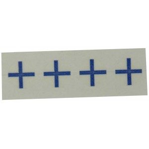 IZ Port Markers, Blue, Isocenters