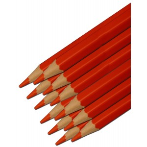 Stabilo Colored Pencil, Red