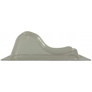 Silverman D Head and Neck Support, Standard Trim, No Peg Holes, New Style