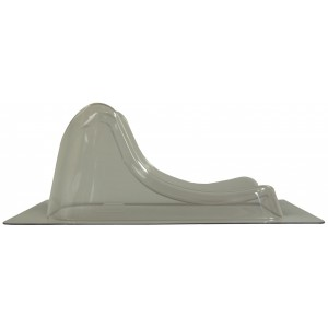 Silverman E Head and Neck Support, Standard Trim, No Peg Holes, New Style