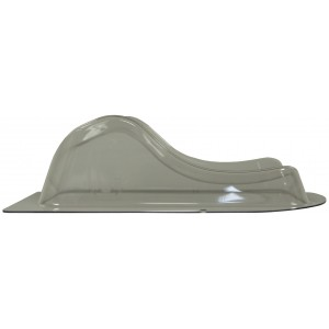Silverman C Head and Neck Support, with Peg Holes, New Style