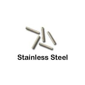 Stainless Steel Cervix Markers, 0.8mm Diameterx 3mm Long, Vial of 100