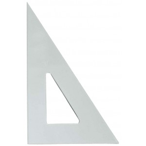 Plastic Triangle 6in, 30 Degree /60 Degree