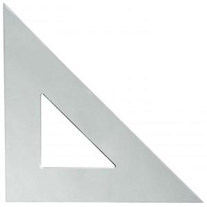 Plastic Triangle 12in, 45 Degree/45 Degree