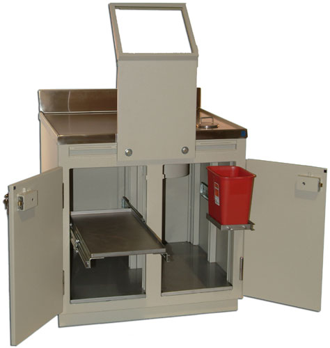 PET Workstations, Safes, Tables, Cabinets