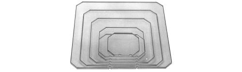Varian Acrylic Drawing Plates