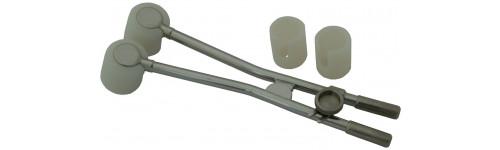 FSD Round Long Handle Stainless Steel Pivot Applicator