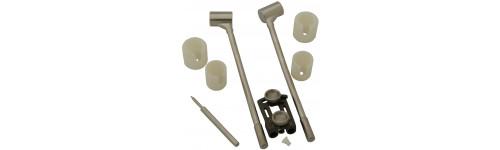 FSD Round Long Handle Bracket Pivot Applicator