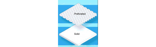 Aquaplast Sheets Perforated, Solid