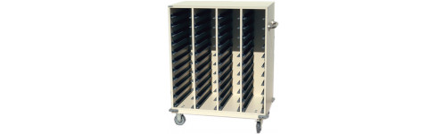 Cabinets for Trays & Cones, Carts, Stands & Stools