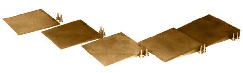 Custom Brass Compensator Wedges