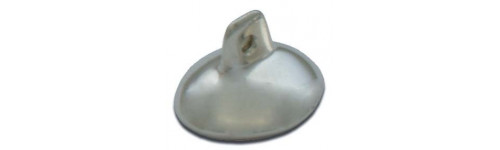 Silver Plated Eye Shields