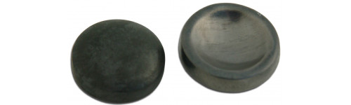 Lead and Tungsten Eye Shields No Handle or Plating