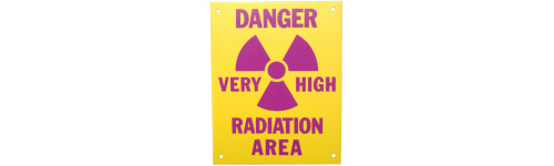 Radiation Caution Signs