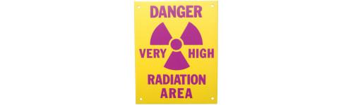Radiation Caution Signs