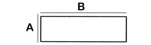 Rectangular Lead Block