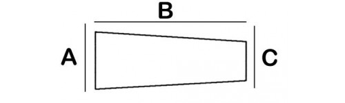 Trapezoid Lead Block