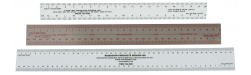 Plastic Rules and Rulers