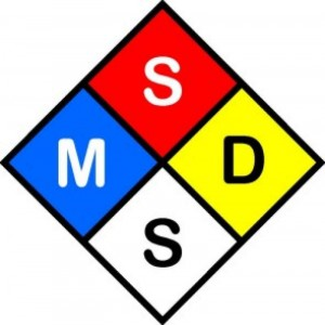 Msds Sds Raw Materials Page Radiation Products Design