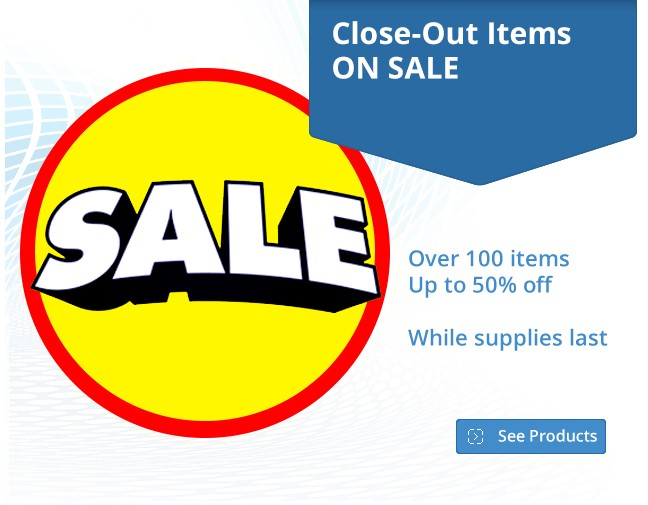 Close Out Sale